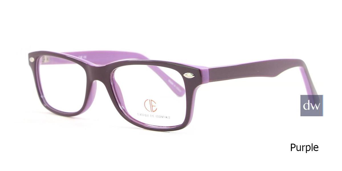 Purple CIE SEC500 Eyeglasses - Teenager