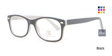 Black CIE SEC503 Eyeglasses.