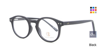 Black CIE SEC504 Eyeglasses.