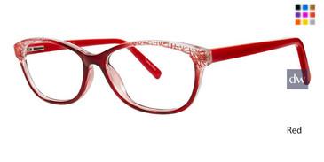 Red Vivid Metro 28 Eyeglasses