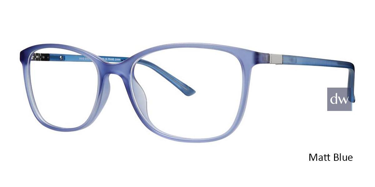 Matt Blue Vivid 263 Eyeglasses