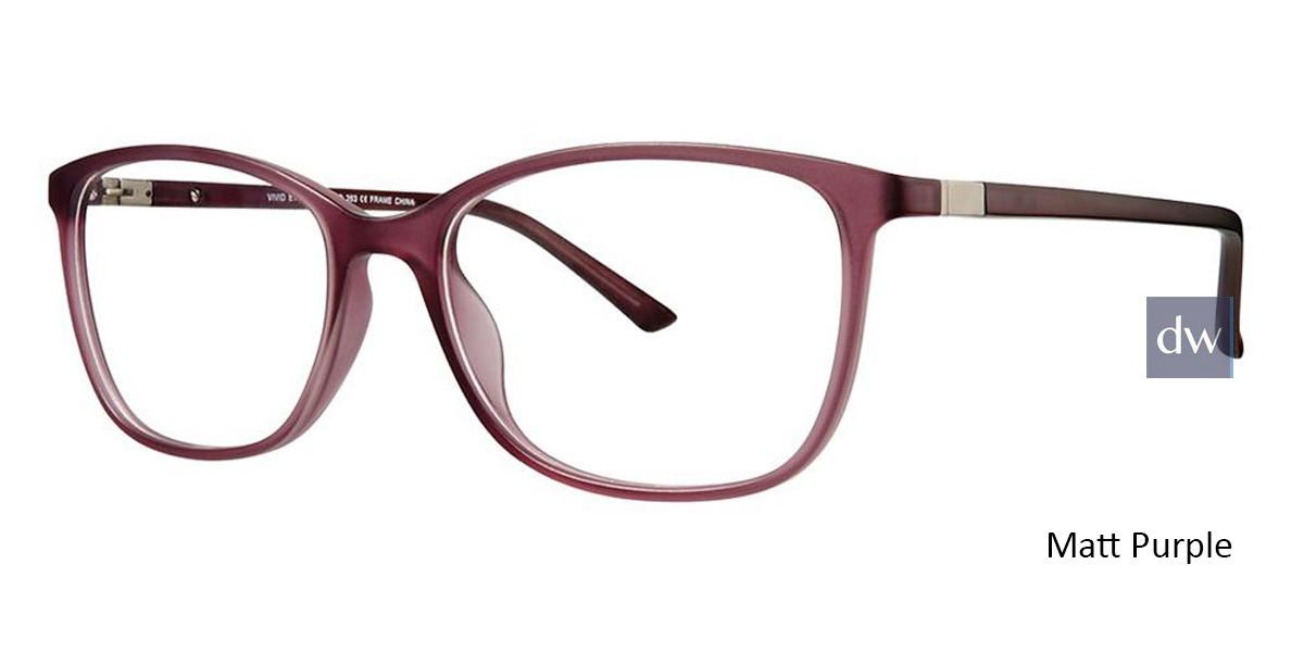 Matt Purple Vivid 263 Eyeglasses