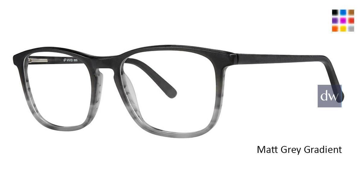 Matt Grey Gradient Vivid 890 Eyeglasses