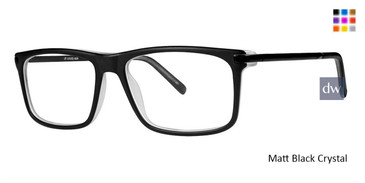 Matt Black Crystal Vivid 889 Eyeglasses