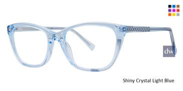 Shiny Crystal Light Blue Vivid 886 Eyeglasses