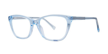 Shiny Crystal Light Blue Vivid 886 Eyeglasses