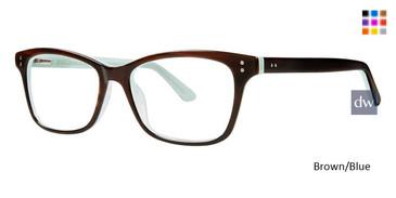 Brown/Blue Vivid 881 Eyeglasses