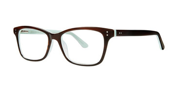 Brown/Blue Vivid 881 Eyeglasses