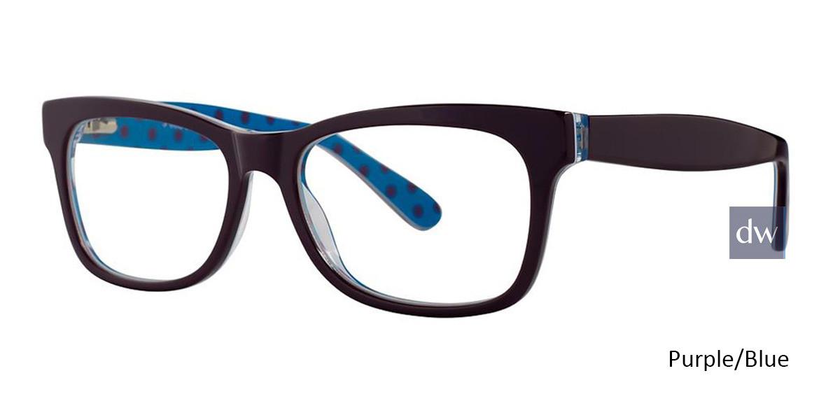 Purple/Blue Vivid 870 Eyeglasses