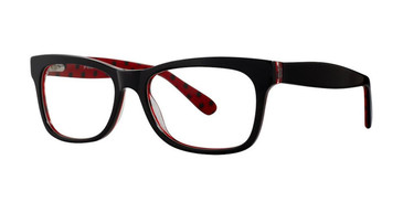 Black/Red Vivid 870 Eyeglasses