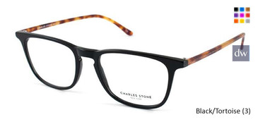 Black/Tortoise (3) William Morris Charles Stone NY CSNY30034 Eyeglasses