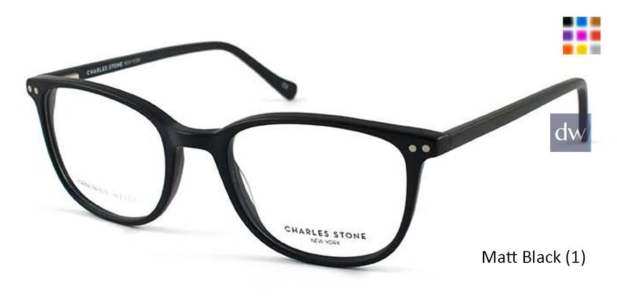 Matt Black (1) William Morris Charles Stone NY CSNY30024 Eyeglasses