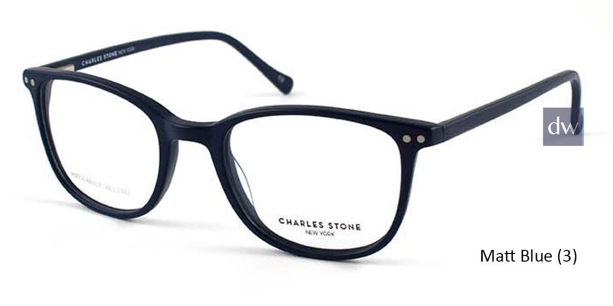 Matt Blue (3) William Morris Charles Stone NY CSNY30024 Eyeglasses