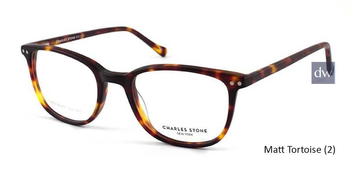 Matt Tortoise (2) William Morris Charles Stone NY CSNY30024 Eyeglasses