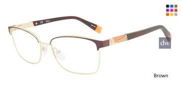 Brown Furla VFU190 Eyeglasses