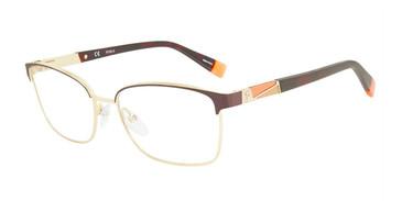 Brown Furla VFU191 Eyeglasses.