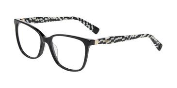 Black Furla VFU196 Eyeglasses.