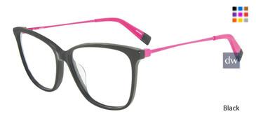 Black Furla VFU200 Eyeglasses