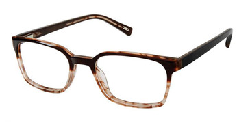 Brown Sand Kliik Denmark 633 Eyeglasses.