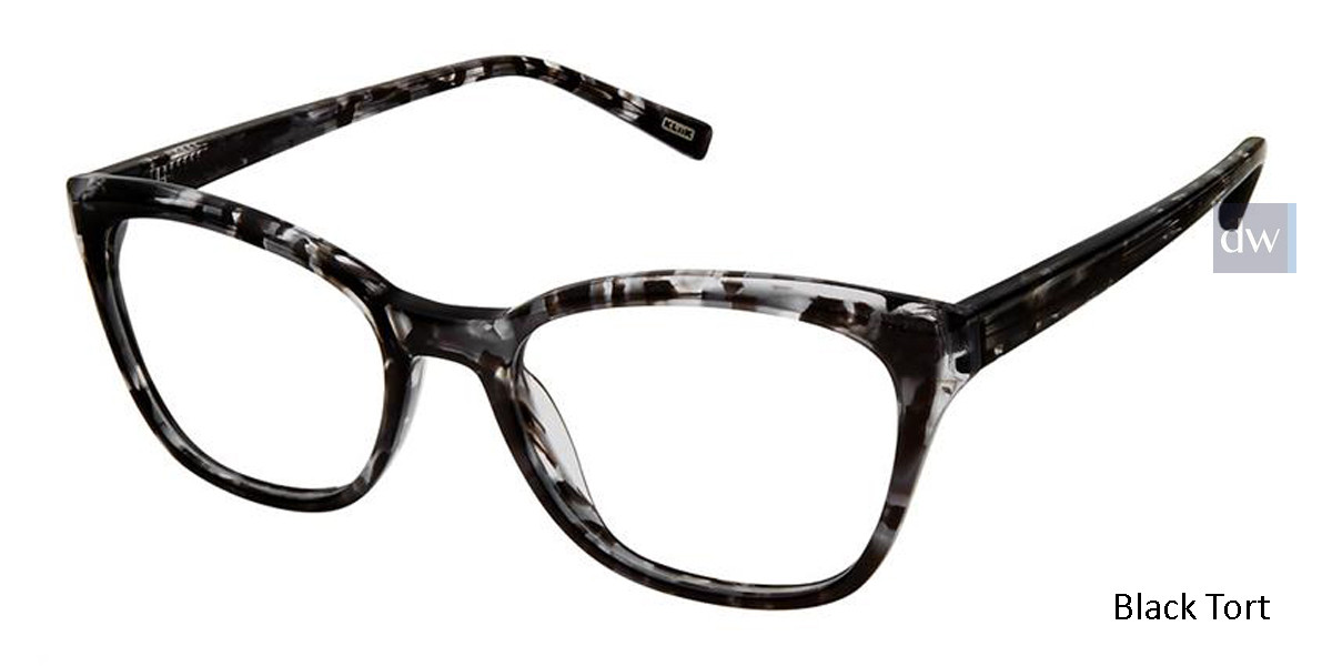 Black Tort Kliik Denmark 624 Eyeglasses.