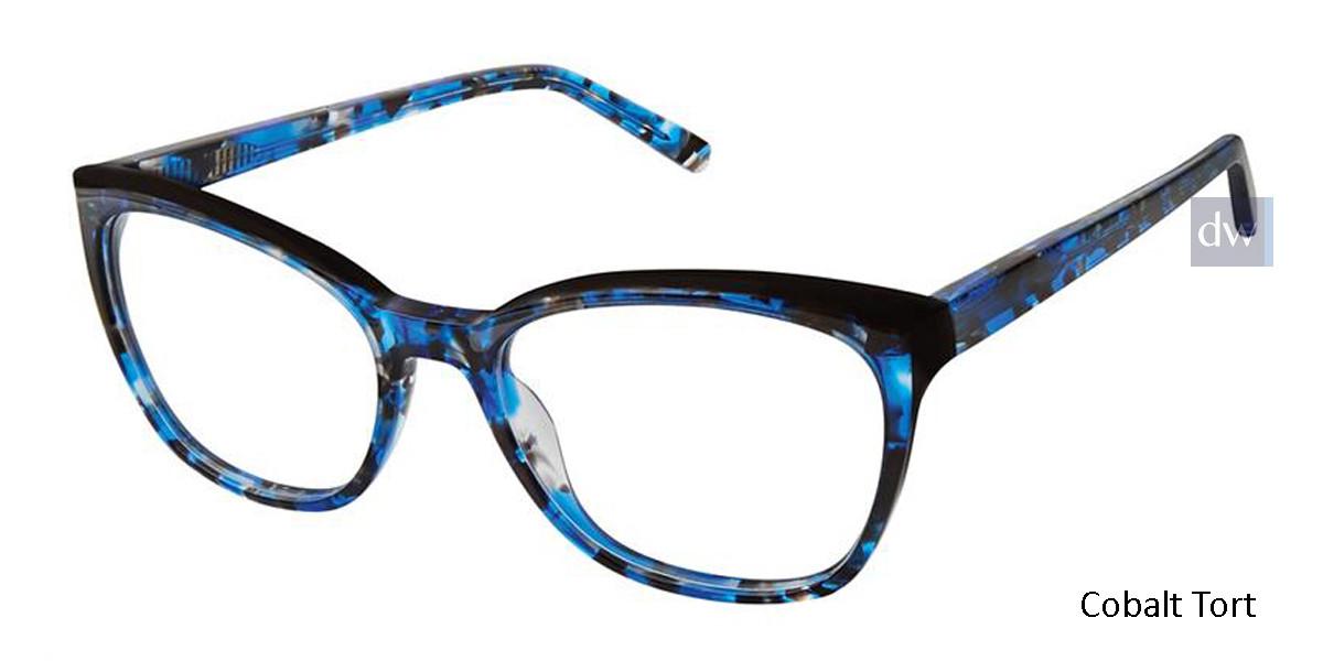Cobalt Tort Kliik Denmark 624 Eyeglasses.