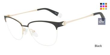 Black Furla VFU188S Eyeglasses