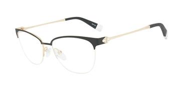 Black Furla VFU188S Eyeglasses.