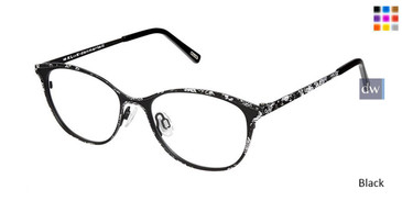 Black Kliik Denmark 617 Eyeglasses - Teenager