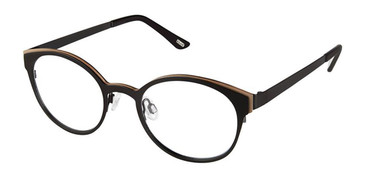 Black Gold Kliik Denmark 614 Eyeglasses.