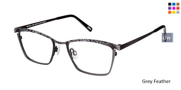 Grey Feather Kliik Denmark 611 Eyeglasses - Teenager