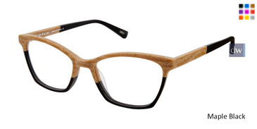 Maple Black Kliik Denmark 602 Eyeglasses