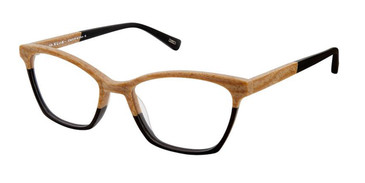 Maple Black Kliik Denmark 602 Eyeglasses.