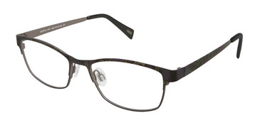 Black Python Kliik Denmark 598 Eyeglasses - Teenager.