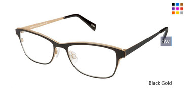 Black Gold Kliik Denmark 593 Eyeglasses - Teenager