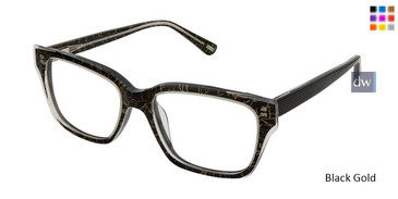 Black Gold Kliik Denmark 592 Eyeglasses - Teenager