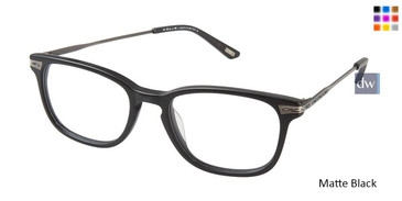 Matte Black Kliik Denmark 581 Eyeglasses - Teenager
