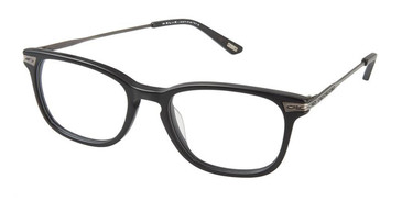 Matte Black Kliik Denmark 581 Eyeglasses - Teenager.