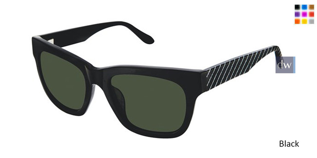 Black Lulu Guinness L152 Sunglasses