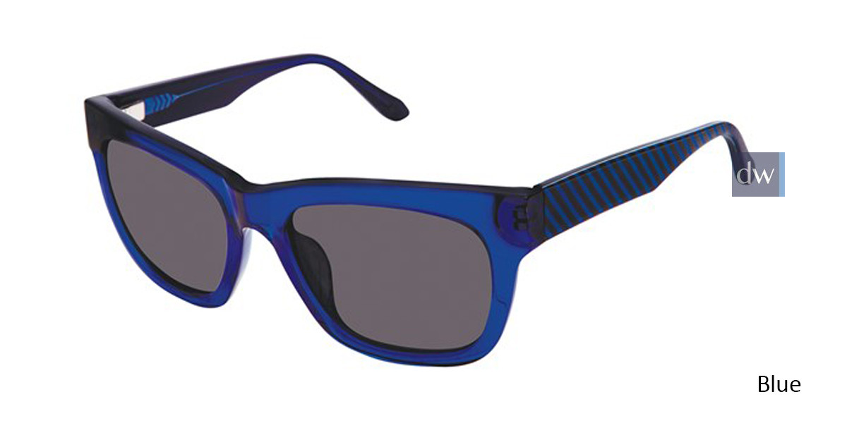 Blue Lulu Guinness L152 Sunglasses