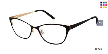 Black Lulu Guinness L301 Eyeglasses - Teenager