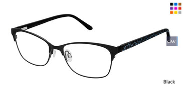 Black Lulu Guinness L781 Eyeglasses