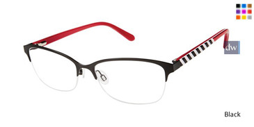 Black Lulu Guinness L786 Eyeglasses