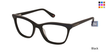 Black Lulu Guinness L892 Eyeglasses