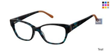 Teal Lulu Guinness L914 Eyeglasses
