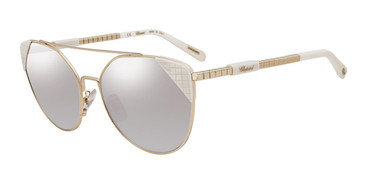 Gold white trim (300X) Chopard SCHC40 Sunglasses