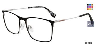 Black Converse Q113 Eyeglasses.