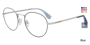 Blue Converse Q116 Eyeglasses.