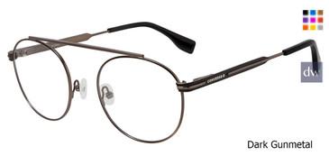 Dark Gunmetal Converse Q118 Eyeglasses.