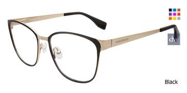 Black Converse Q204 Eyeglasses.