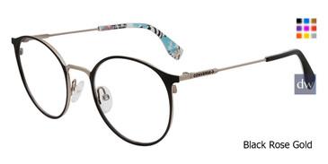 Black Rose Gold Converse Q205 Eyeglasses.